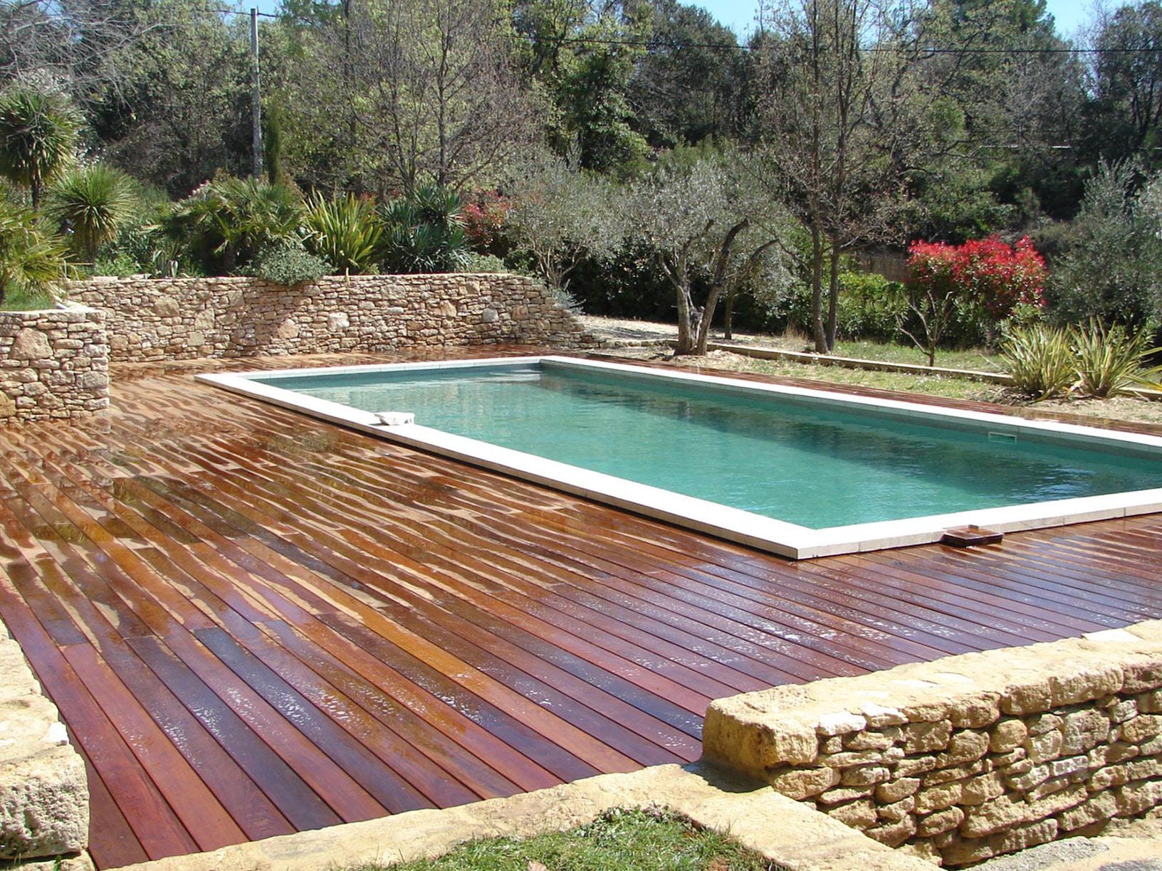 Villa particulier terrasse bois
